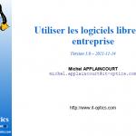 Utiliser des logiciels libre en entreprise